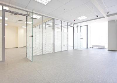 Empty office hall