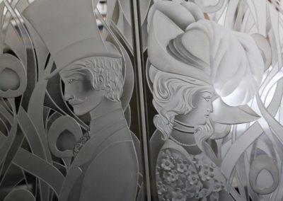 Glass Door Art
